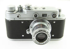 ZORKI S Vintage Russian Camera INDUSTAR-22 Lens #57001291 EXC