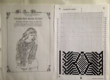 Passap E6000 & Duomatic: Diamond Aran Tunic Pattern Design