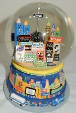 Snow Globe, New York Theater District, Twin Towers , Dated 2000, New Years Day