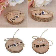 Home Decor Rustic Wedding Items Stuff Wedding Ring Holder Vintage Wood Decor