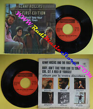 LP 45 7'' KENNY ROGERS & THE FIRST EDITION Ruby don't take your no cd mc dvd (*)