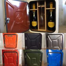 Upcycled Jerry Can Mini Bar,Champagne,Prosecco,Picnic,New,Camping,Drinks Cabinet
