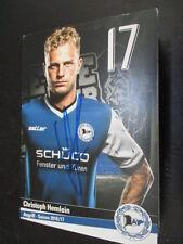 67756 Christof Hemlein Arminia Bielefeld 16-17 original signierte Autogrammkarte