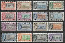 BAHAMAS 1954 ELIZABETH II SET x16 SG 201-216 MNH