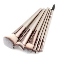 6pcs Makeup Cosmetic Face Powder Blush Brush Foundation Brushes Tool For Beauty