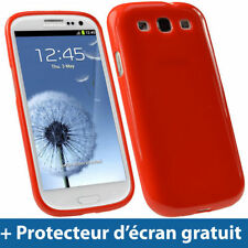 Étuis, housses et coques rouge Samsung Pour Samsung Galaxy S pour téléphone mobile et assistant personnel (PDA)