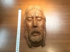 wooden statue  wood carved corpus christie jezus jesus head