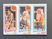 1980 Topps #30 Larry Bird Rookie Scoring Leader NM/NMMT Boston Celtics HOF
