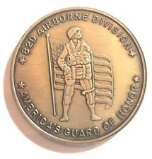 US Army 82nd Airborne Division Challenge Coin Combat Jump Wings