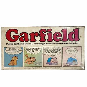 Vintage 1978 GARFIELD Board Game By Parker Brothers -  COMPLETE