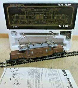 Bemo 1255 103 H0m Locomotive Ge 6/6 I Crocodile 413 D. Rhb EP 4 Unused Boxed