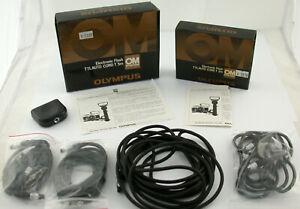 OLYMPUS TTL OM Autocord Adapter flash cable Blitz Kabel Posten Set T 2m 5m /21