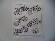 advertising Pubblicità 1970 BARAVELLI BENELLI 250/MZ 250/SUZUKI 125/YAMAHA/HONDA