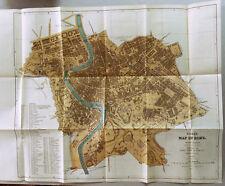 XXI Sec.Originale Mappa Geo-Topografica= ROMA ROME = Cm 55 x 40..ITALIA ETNA