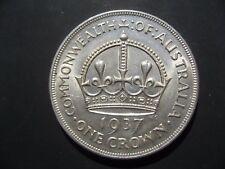 Australie COURONNE 1937.