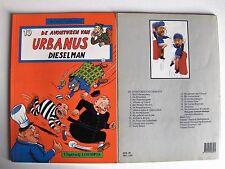 Urbanus nr 19  Uitgeverij Loempia 1988