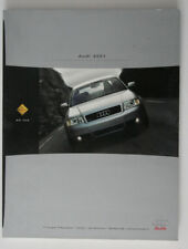 AUDI TT S4 S8 Allroad 2001 dealer brochure - English - Canada - HS4005000118