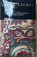 RALPH LAUREN Larson BOHEMIAN MUSE BURGUNDY Multi  KING SHAM NIP   $185  NIP