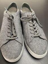 Reiss Bradley Clae Knitted Grey Wool Trainers RRP £135