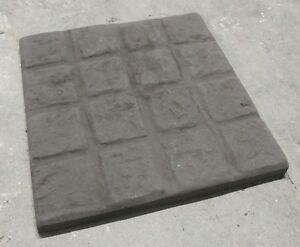 450mm x 450mm Cobble effect paving slabs - Various colours - Collection