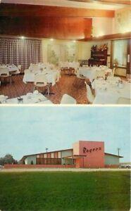 Dexter Klingle Rogers famous Foods New Hampton Iowa 1950s Postcard 21-1831