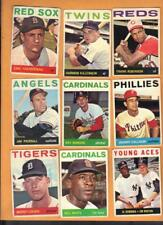 170 Different 1964 Topps Baseball cards Starter Lot VGEX to EX
