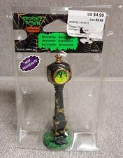 "Spooky Town Lemax Halloween Village ""Creepy Clock"" Figurine"