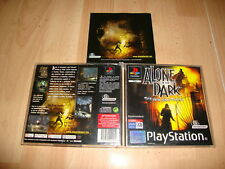 ALONE IN THE DARK THE NEW NIGHTMARE DE INFOGRAMES PARA LA PS1 USADO COMPLETO