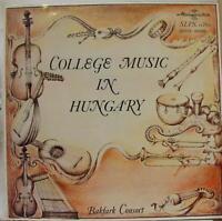 BAKFARK CONSORT college music in hungary LP VG+ SLPX 11760 Vinyl 1976 Record