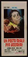 Cartel Un Lugar Ideal Per Matar Por Umberto Lenzi Ray Jarrón Lata Muti N47