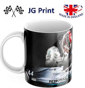 Lewis Hamilton inspired formula one F1 mug design