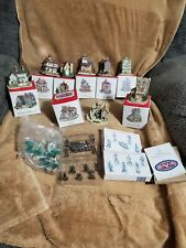 The Americana Collection village lot Liberty Falls 8 Buildings 2 Pewter Collecti