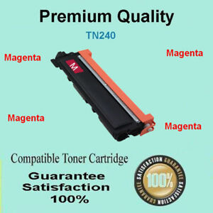 1x TN240M Toner for Brother MFC9125 MFC9325 MFC9125CN MFC9325CW MAGENTA