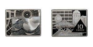 2020 France 10 Euros The Wave of Hokusai - PCGS PR70DCAM
