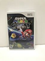 Nintendo Wii SUPER MARIO GALAXY Original White Label New (READ DESCRIPTION!!)