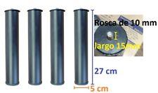 JUEGO 4 PATAS SOMIER DE LAMINAS TAPIFLEX A ROSCA 10mm PARA ROSCA CANAPE CAMA