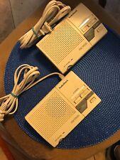 2X WIRELESS INTERCOM SYSTEM 3 CHANNEL RADIO SHACK 43-490