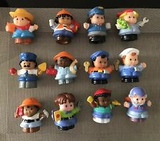 FISHER PRICE LITTLE PEOPLE ON THE JOB FIGURES 3 FOR $9.99 PLUS $8.50 POSTAGE