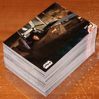 Star Wars Force Awakens Series 2 ~ GREEN & BLUE PARALLEL BASE SETS (200 cards)
