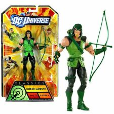 "DC Universe Classics Wave 20 Action Figure 4 Green Arrow + Nekron Mattel 6"" NIB"