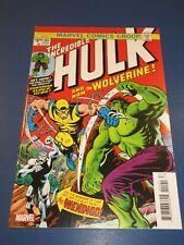 Incredible Hulk #181 Facsimile Reprint 1st Wolverine Key VF+ Beauty