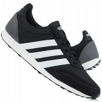 Adidas V Racer 2.0 Men`s Boy`s Running Sport Trainers Black White UK Stock