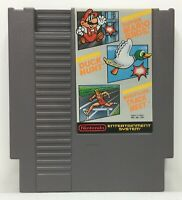 NES Super Mario Bros. / Duck Hunt / World Class Track Meet *Authentic/Tested*