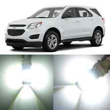 Alla Lighting Front Turn Signal Light T20 White LED Bulb for 11~17 Chevy Equinox
