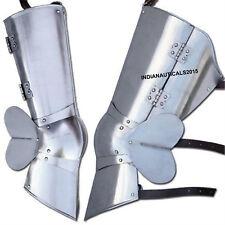 Imperial Floating Knee Steel Leg of Armor Polish Finish
