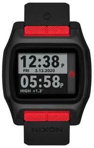 Nixon High Tide Watch - Black / Red - New