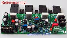 DIY Dual DC 30-50V 2SA1943 2SC5200 120W Mono Channel KSA100 Amplifier Board Kits