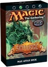 Scourge Theme Deck Max Attax (ENGLISH) FACTORY SEALED BRAND NEW MAGIC ABUGames