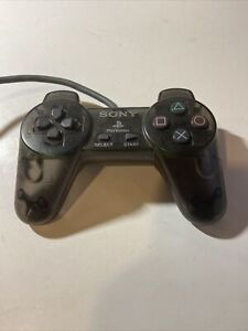 Sony Playstation - Official transparent Controller - Model PS1 SCPH-1080 TESTED