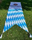 RARE Paulaner Munchen Beer Flag Banner Oktoberfest Germany XL 4.75ft W x 16ft H